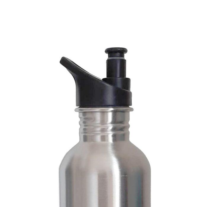 Sports cap on bottle