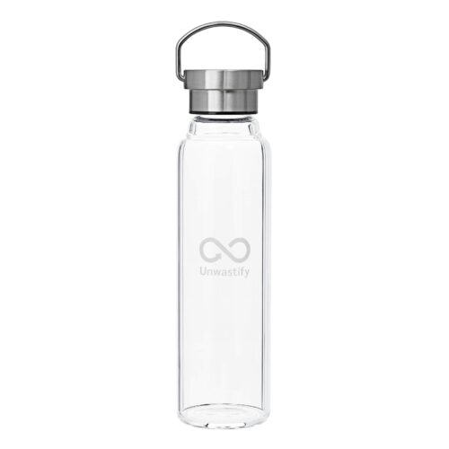 Unwastify 750 ml Glasflasche
