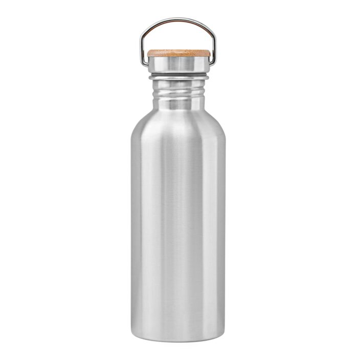 Stainless steel bottle 1000 ml backside