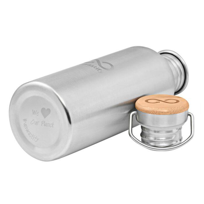 Stainless Steel Bottle 1000 ml underside