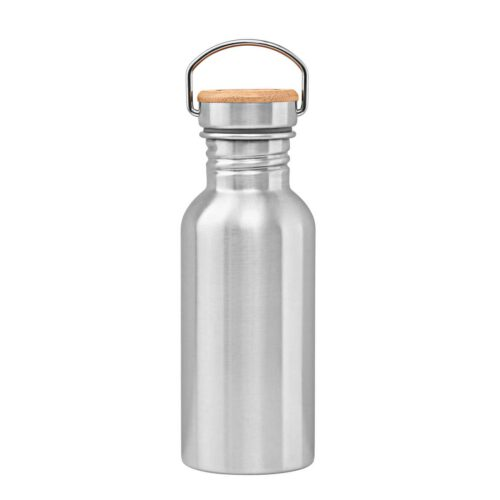 Stainless steel bottle 500 ml backside