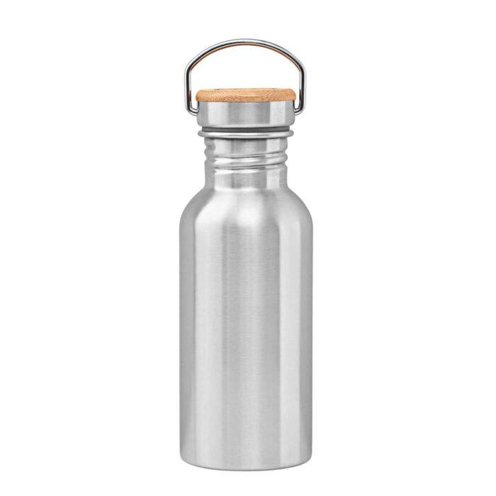 Stainless steel bottle 500 ml backside