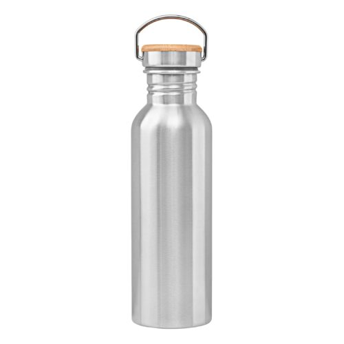 Unwastify stainless steel bottle 750 ml backside