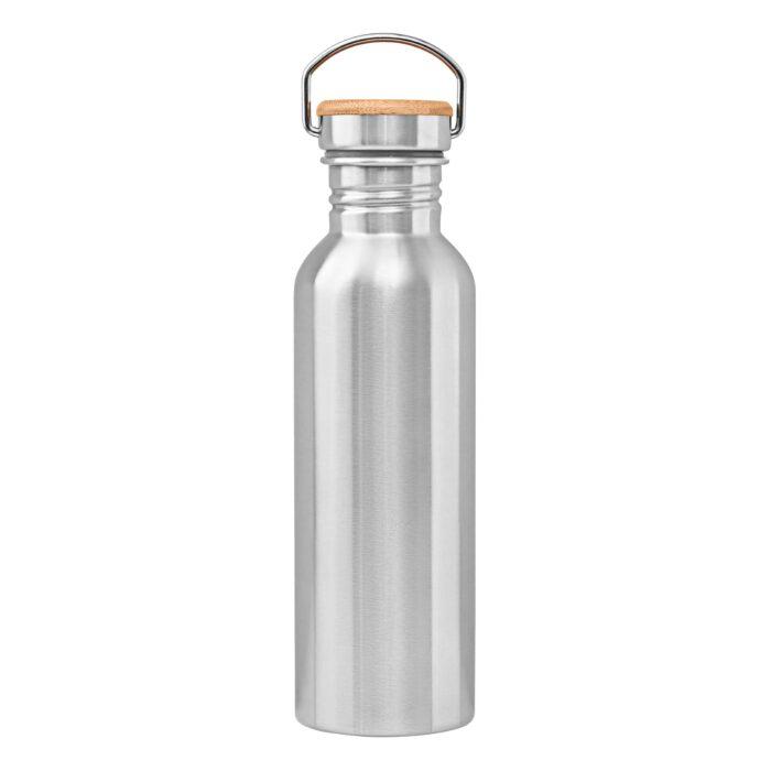 Edelstahlflasche 750 ml Rückseite