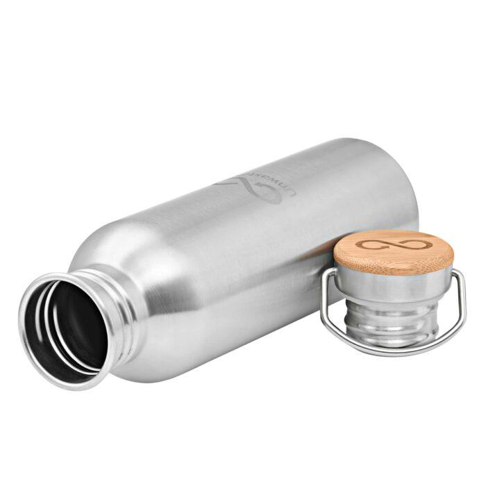 Edelstahlflasche 750 ml weite Öffnung